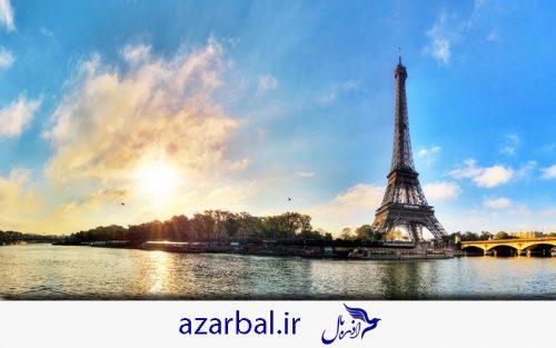 سفر به فرانسه، تور فرانسه تابستان 99 ، پاریس نگین فرانسه