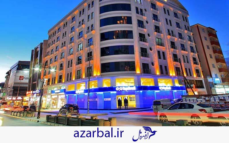 هتل کروان وان Kervan Hotel در تور وان یکی از بهترین هتل های 3 ستاره وان