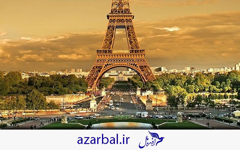 پاریس پایتخت رویایی کشور فرانسه
