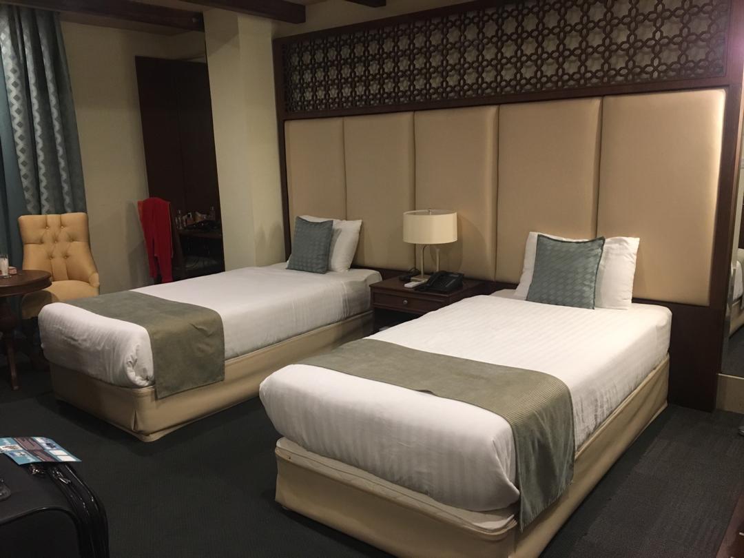 چیدمان اتاق های هتل ایرمان