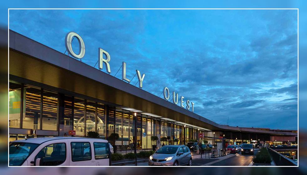فرودگاه اورلی پاریس در کشور فرانسه