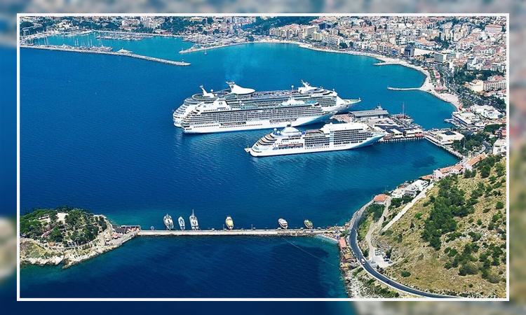 کشتی ها و دریای ترکیه