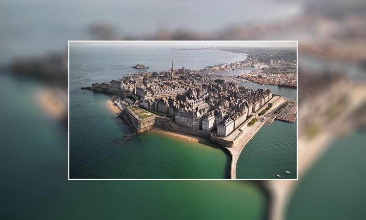 شهر بندری سنت مالو فرانسه