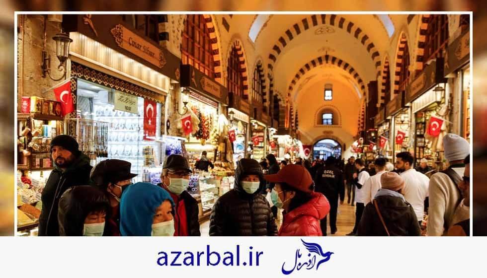 بازگشایی بازارها در ترکیه
